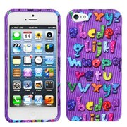 Insten® Phone Protector Cover F/iPhone 5/5S, Alphabet Bling