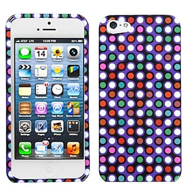Insten® Phone Protector Cover F/iPhone 5/5S, Grid Dots