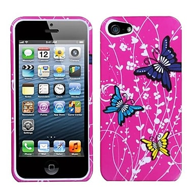 Insten® Phone Protector Cover F/iPhone 5/5S, Spring Butterfly