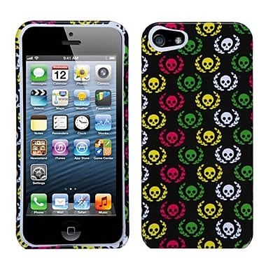 Insten® Phone Protector Cover F/iPhone 5/5S, Cute Skulls