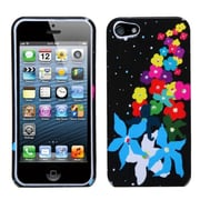 Insten® Phone Protector Cover F/iPhone 5/5S, Rainbow Flower