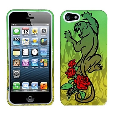 Insten® Phone Protector Cover F/iPhone 5/5S, Cougar Rose