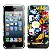 Insten® Phone Protector Cover F/iPhone 5/5S, Blumenstilleben