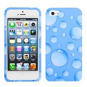 Insten® Phone Protector Cover F/iPhone 5/5S, Blue Bigger Bubbles
