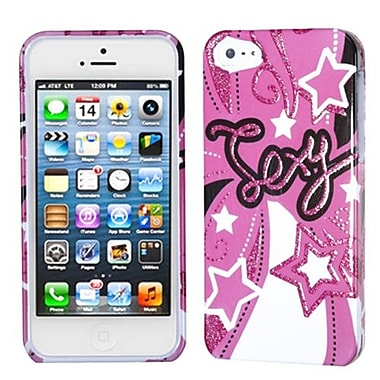 Insten® Phone Protector Cover F/iPhone 5/5S, Sexy Pink Sparkle
