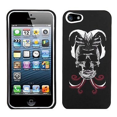 Insten® Phone Protector Cover F/iPhone 5/5S, Lizzo Skull Joker