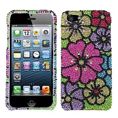 Insten® Gardenr Premium Diamante Phone Protector Covers F/iPhone 5/5S