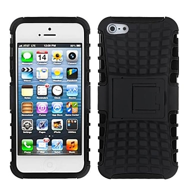 Insten® Rubberized Protector Covers W/Advanced Armor Stand F/iPhone 5/5S