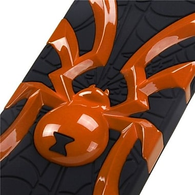 Insten® Spiderbite Hybrid Protector Cover F/iPhone 5/5S, Solid Pearl Orange/Black