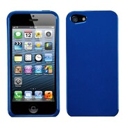 Insten® Phone Protector Cover F/iPhone 5/5S, Solid Dark Blue