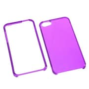 Insten® Phone Protector Cover F/iPhone 5/5S, T-Electric Purple