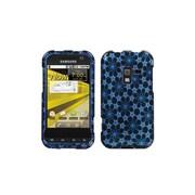 Insten® Protector Case F/Samsung Conquer 4G/GALAXY Attain 4G, Twinkle Stars/Blue Silver Sparkle