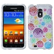 Insten® Diamante Phone Protector Case For Samsung Epic 4G Touch/Galaxy S II, Rainbow Bigger Bubbles