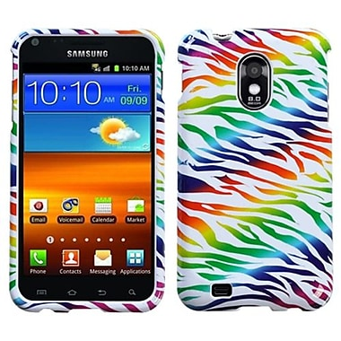 Insten® Phone Protector Case For Samsung Epic 4G Touch/Galaxy S II, Colorful Zebra