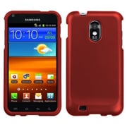 Insten® Phone Protector Case For Samsung Epic 4G Touch/Galaxy S II, Titanium Solid Red