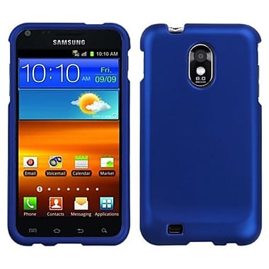 Insten® Phone Protector Case For Samsung Epic 4G Touch/Galaxy S II, Titanium Solid Dark Blue
