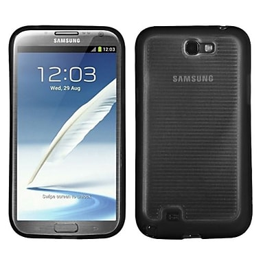 Insten® Stripes Gummy Cases For Samsung Galaxy Note II (T889/I605)