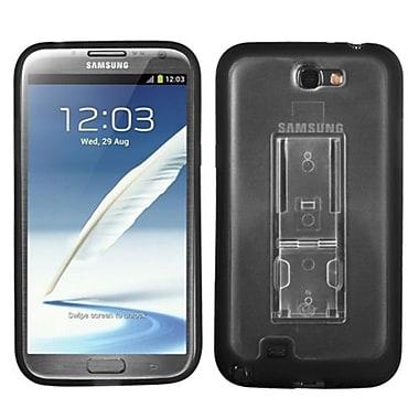 Insten® Gummy Cases W/Stand For Samsung Galaxy Note II (T889/I605)