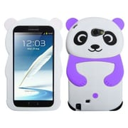 Insten® Case For Samsung Galaxy Note II (T889/I605), White Panda Purple Hands