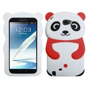 Insten® Case For Samsung Galaxy Note II (T889/I605), White Panda Red Hands