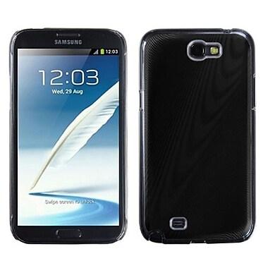 Insten® Cosmo Back Protector Case For Samsung Galaxy Note II (T889/I605), Glare Black