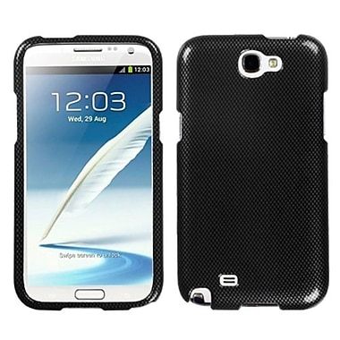 Insten® Phone Protector Case For Samsung Galaxy Note II (T889/I605), Carbon Fiber