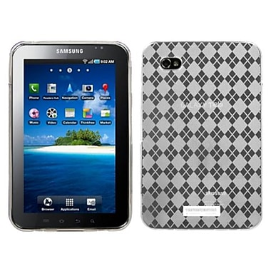 Insten® Argyle Candy Skin Case For Samsung P1000 Galaxy Tab, Clear
