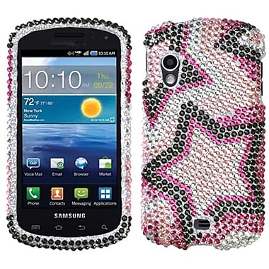 Insten® Diamante Protector Case For Samsung I405 Stratosphere, Twin Stars