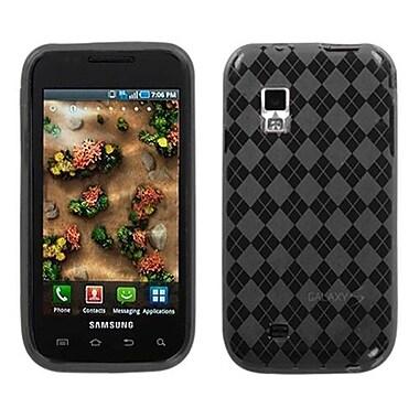 Insten® Argyle Candy Skin Case For Samsung i500 Fascinate/i500 Mesmerize, Smoke