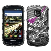 Insten® Diamante Protector Case For Samsung I510 Droid Charge, Skull