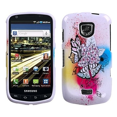 Insten® Phone Protector Case For Samsung I510 (Droid Charge), Butterfly Paradise