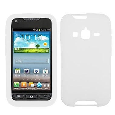 Insten® Skin Case For Samsung i547 (Galaxy Rugby Pro), Solid Translucent White