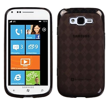 Insten® Argyle Candy Skin Case For Samsung i667 Focus 2, Smoke