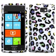 Insten® Phone Protector Case For Samsung i677 (Focus Flash), Colorful Leopard