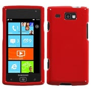 Insten® Phone Protector Case For Samsung i677 (Focus Flash), Solid Flaming Red