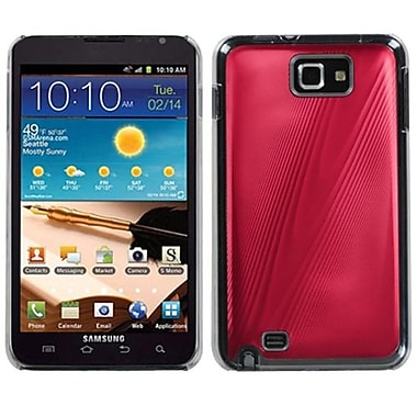 Insten® Cosmo Back Protector Case For Samsung Galaxy Note, Red