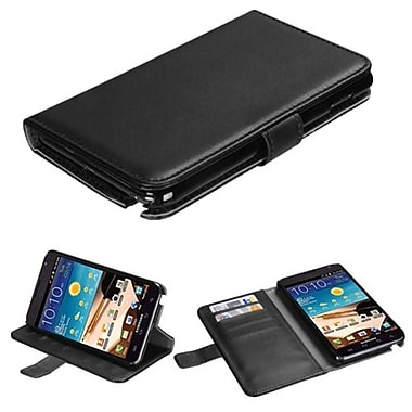 Insten® Book-Style MyJacket Wallet With Tray For Samsung Galaxy Note, Black