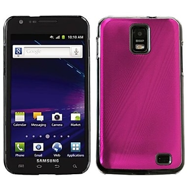 Insten® Cosmo Back Protector Case For Samsung i727 (Galaxy S II Skyrocket), Hot-Pink