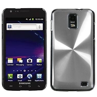 Insten® Cosmo Back Protector Case For Samsung i727 (Galaxy S II Skyrocket), Silver