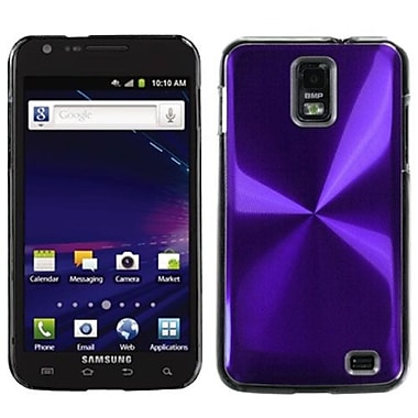 Insten® Cosmo Back Protector Case For Samsung i727 (Galaxy S II Skyrocket), Purple