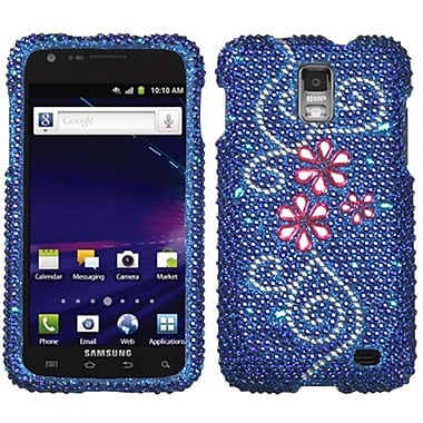 Insten® Diamante Protector Case For Samsung i727 (Galaxy S II Skyrocket), Juicy Flower