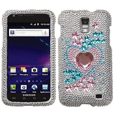 Insten® Diamante Phone Protector Case For Samsung i727 (Galaxy S II Skyrocket), Star Track