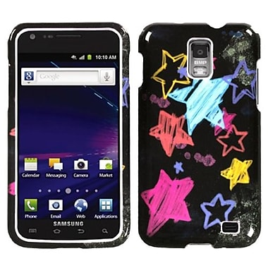 Insten® Phone Protector Case For Samsung i727 (Galaxy S II Skyrocket), Chalkboard Star Black