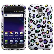 Insten® Phone Protector Case For Samsung i727 (Galaxy S II Skyrocket), Colorful Leopard