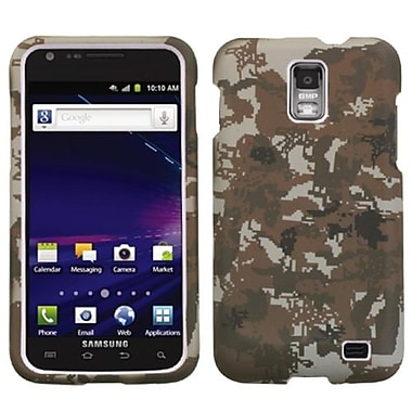 Insten® Lizzo Digital Camo Phone Protector Case For Samsung i727 (Galaxy S II Skyrocket), Yellow
