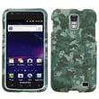 Insten® Lizzo Digital Camo Phone Protector Case For Samsung i727 (Galaxy S II Skyrocket), Green