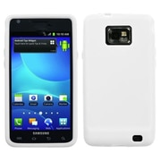Insten® Solid Skin Case For Samsung I777 Galaxy S2, Translucent White