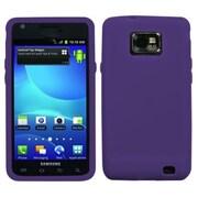 Insten® Solid Skin Case For Samsung I777 Galaxy S2, Purple