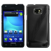 Insten® Cosmo Back Protector Case For Samsung I777 Galaxy S2, Black