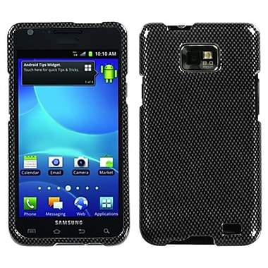 Insten® Phone Protector Case For Samsung I777 Galaxy S2, Carbon Fiber